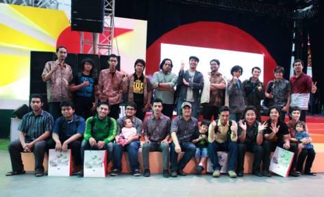 Foto bersama para nominator