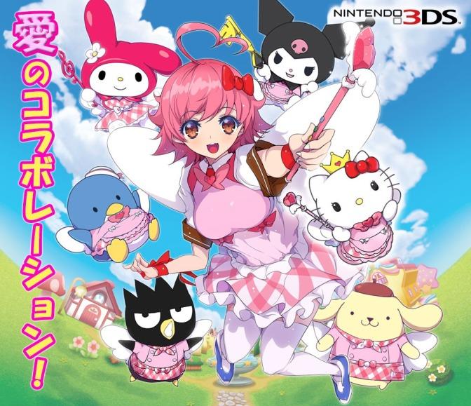 Arcana Hearts berkolaborasi dengan Hello Kitty dalam game 3DS!?