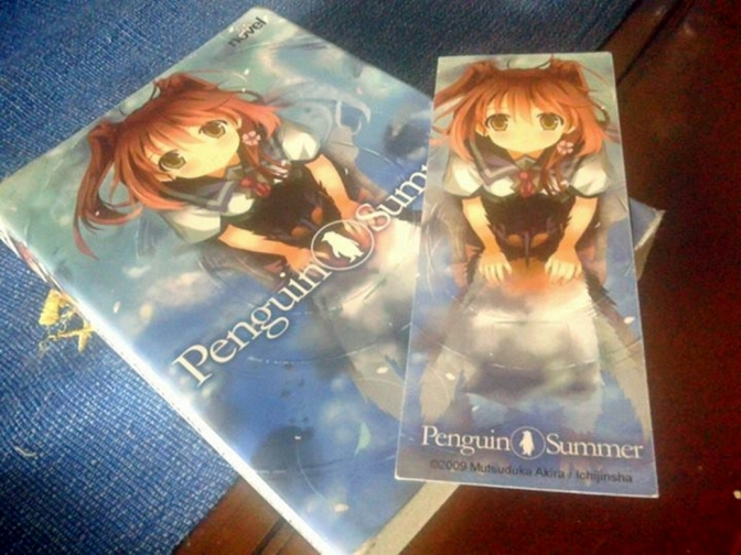 Ulasan light novel: Penguin Summer