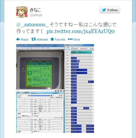 Pengguna Twitter Kiniko mempertunjukkan bagaimana ia membuatnya.