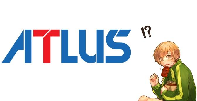 Perusahaan ATLUS mengubah logo official mereka