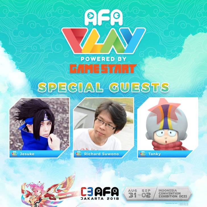 C3AFAJKT IMG APAPlay Special Guest